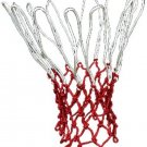 Uxcell® All-Weather Standard Match Basketball Net Red And White