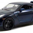 Jada Toys Fast and Furious 1:24 Diecast Nissan GTR, Blue