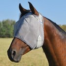 Cashel Crusader Standard Fly Mask No Ears or Nose - Size: Weanling, Small Pony