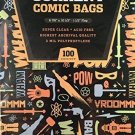 100 CBG Current Comic Bags - Archival Quality for protecting your Comic Books