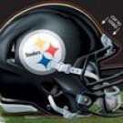 Pittsburgh Steelers Official NFL 4.5 Inch X 6 Inch Car Window Cling Decal