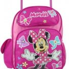 Disney Minnie Mouse 12 Toddler Rolling Backpack