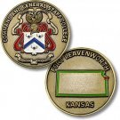 Army Command And General Staff College, Fort Leavenworth, KS Challenge Coin