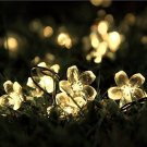 Innoo Tech Outdoor Solar String Lights 21ft 50 Led Blossom Flower Fairy Light