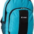 Everest Backpack With Front And Side Pockets, Turquoise