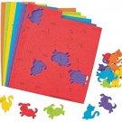 Colorful DOG and CAT Shapes (500 Pcs. Per Unit) Self-Adhesive Foam.