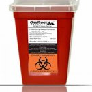 OakRidge Products Sharps And Biohazard Disposal Container, 1 Quart Size