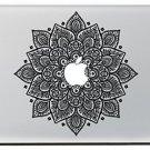 F-Tech Apple Macbook 13 Removable Vinyl Sticker Printed Skin (Fs-Flower006)
