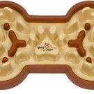 Waghaus Guzzle Muzzle Cute Slow Feeder Dog Bowl, Small