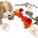 Everlast Pet Toys   Best Rope and Plush Toy Bundle For Dogs   Plush Doll   Ball