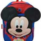 Disney Mickey Mouse Club-house 3D 16 School Backpack