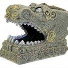 Blue Ribbon Pet Products Resin Aquarium Ornament - Serpent Head Tomb, 6.25 Inch