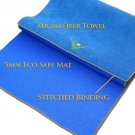 Aurorae Synergy 5 Mm Thick Yoga Mat; With Integrated Microfiber Towel