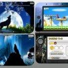 Moon Wolf 3DS XL Vinyl Skin Decal Sticker For 3DS XL