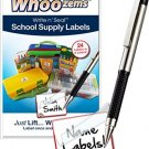 Children Name Labels - Self-Laminating - Great For School Supplies