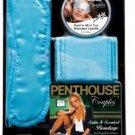 Penthouse Couples Satin and Scented Bondage Kit, Blue, Blue