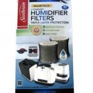 Sunbeam Cool Mist Humidifier Filter Type D SF221Value Pack-2 Filters In Box