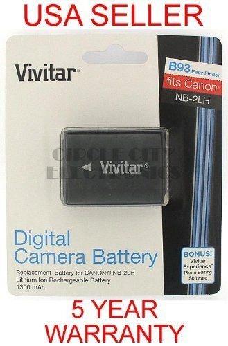 Vivitar Canon NB-2LH Equiv. Battery