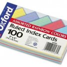 ESS40280 - Oxford Ruled Index Cards