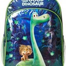 Disney Little Boys Good Dino Backpack With Lights, Green, One Size