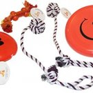 Everlast Pet Toys | Best Chew and Squeak Bundle For Dogs | (2) Knotted Ball | |