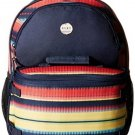 Roxy Junior's Bunny Polyester Backpack, Jagged Stripe, One Size