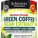 Green Coffee Bean Extract 800mg With GCA - Extra Strength Weight Loss Pills 50%