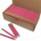 Half Pencils With Eraser, Golf, Classroom, Events, Hexagon, Sharpened, Box Of