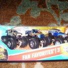 Mattel Hot Wheels Monster Jam Fan Favorites 3 Maximum Destruction Stone Crusher