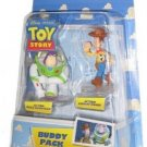 Disney / Pixar Toy Story Mini Figure Buddy Pack Action Buzz Lightyear And Woody