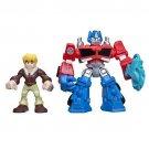 Playskool Heroes Transformers Rescue Bots Optimus Prime and Cody Burns Figure P