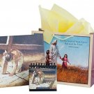 Life Of Christ - Canvas, Perpetual Calendar, And Gift Bag Set