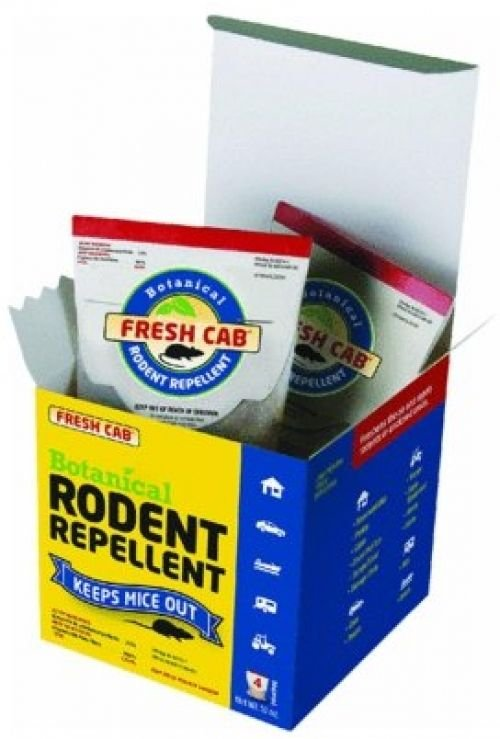 Earthkind Botanical Rodent Repellent, 4-Pouches - 125 Square Feet Per Pouch