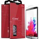 ICarez HD Clear Screen Protector For LG G3 [Unique Hinge Install Method With -
