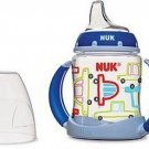 NUK Learning And Trainer Cup, Silicone Spout, Boy Design 5-oz