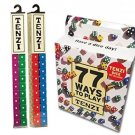 Tenzi 2 Pack For 8 Players - 8 Sets Of Ten Dice With Bonus 77 Ways To Play Tenzi