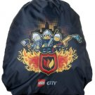 LEGO Cinch Sack City Fire To The Rescue, Black, One Size