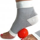 COMPRESSION SOCKS For Plantar Fasciitis (pair), And FREE Spiky Massage Ball For
