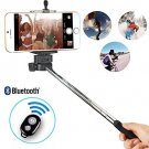 Self Photo Taking Stick Extendable Bluetooth , With Remote and Bluetooth (BLACK