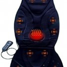 New Five Star FS8812 10-Motor Vibration Massage Seat Cushion With Heat - Neck -