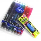Pilot Frixion Ball Erasable Extra Fine Point Gel Ink Pen - 0.5 Mm - 8 Color set