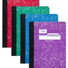 Mead Composition Book, Wide Ruled, 100 Sheets, 9-3/4 X 7-1/2 , Assorted Colors,