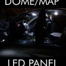 LED W9 WHITE 2X DOME MAP INTERIOR LIGHT BULB 9 SMD CIRCLE PANEL XENON HID LAMP e