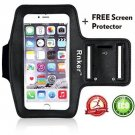 Rnker Water Resistant Sports Armband With Screen Protector And Key Holder For 6