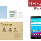 IFlash® 2 Pack Of Premium Tempered Glass Screen Protector For LG G4 - Protect