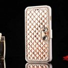 DeFaith - 5.5 Inch IPhone 6 Plus Case - Premium Bling Bling Rhinestone Flip For