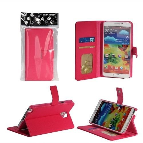 Bear Motion (TM) Premium Folio Case For Samsung Galaxy S4 SIV S IV I9500 Smart