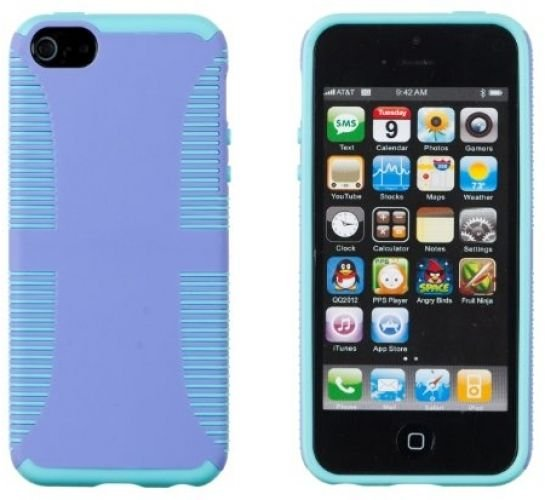 DandyCase THIN Dual Layer ARMOR Case For Apple IPhone 5S / 5 (AT and T, Sprint,