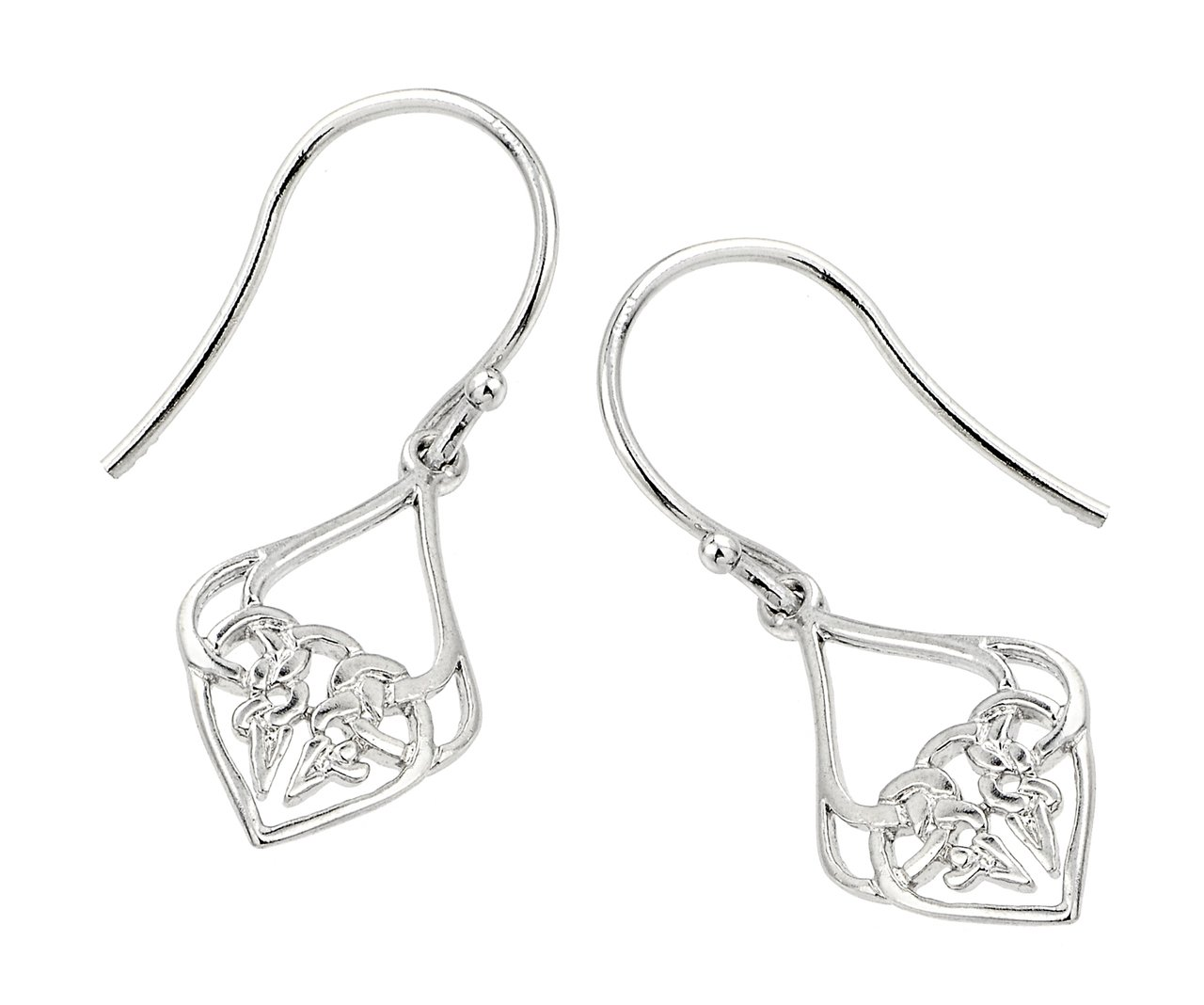 Sterling Silver Celtic Knot Earrings 925 new beautiful y precious jewelry Irish