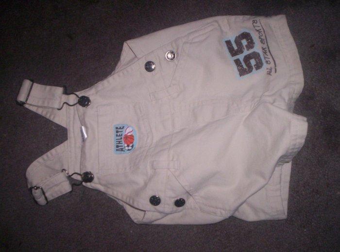 khaki overalls (boy)